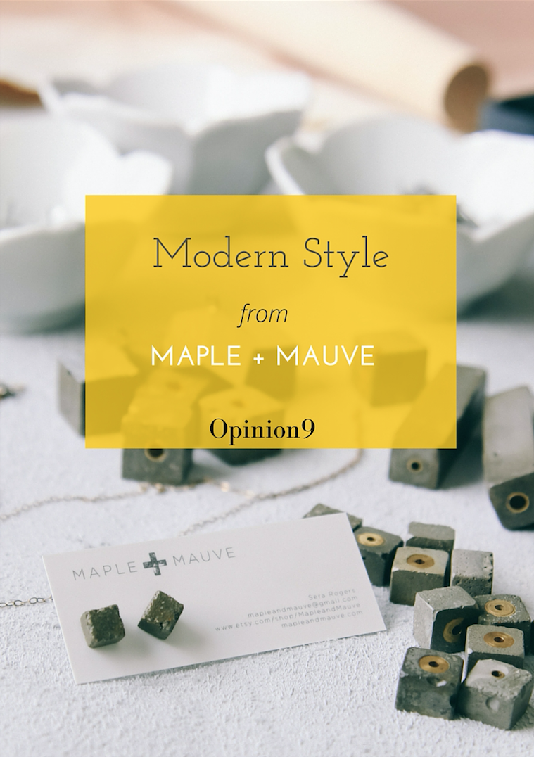 Modern Style from Maple + Mauve via Opinion9
