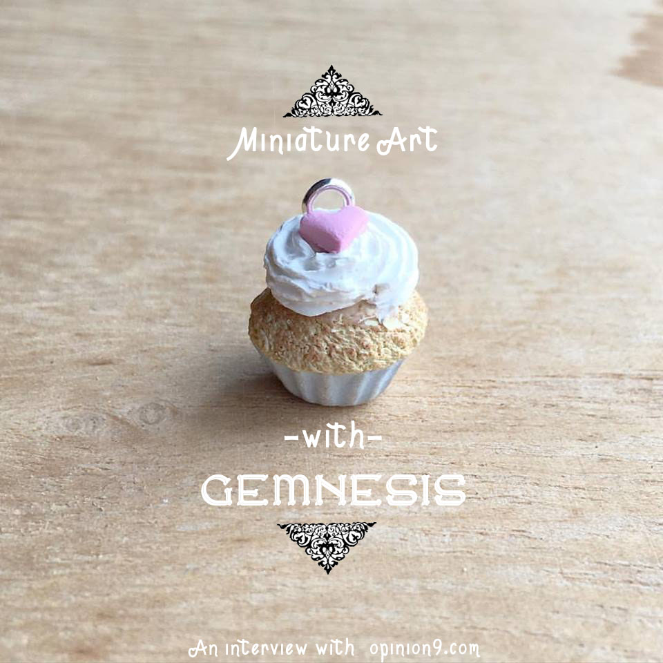 Miniature Art + Jewelry with Gemnesis- a creative maker interview with Opinion9.com