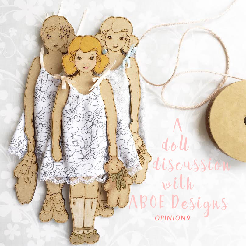 A Doll Discussion with ABOE Designs via Opinion9.com