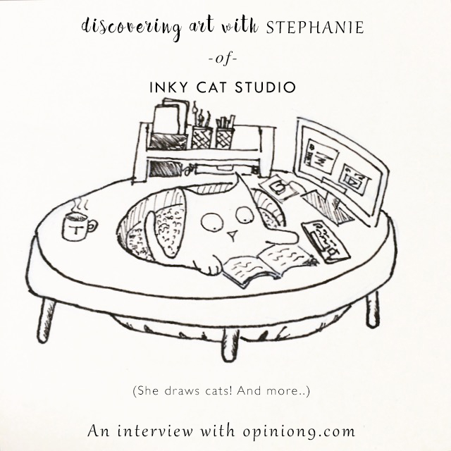 Discovering Art With Stephanie- a creative interivew with artist Stephanie Hew via Opinion9