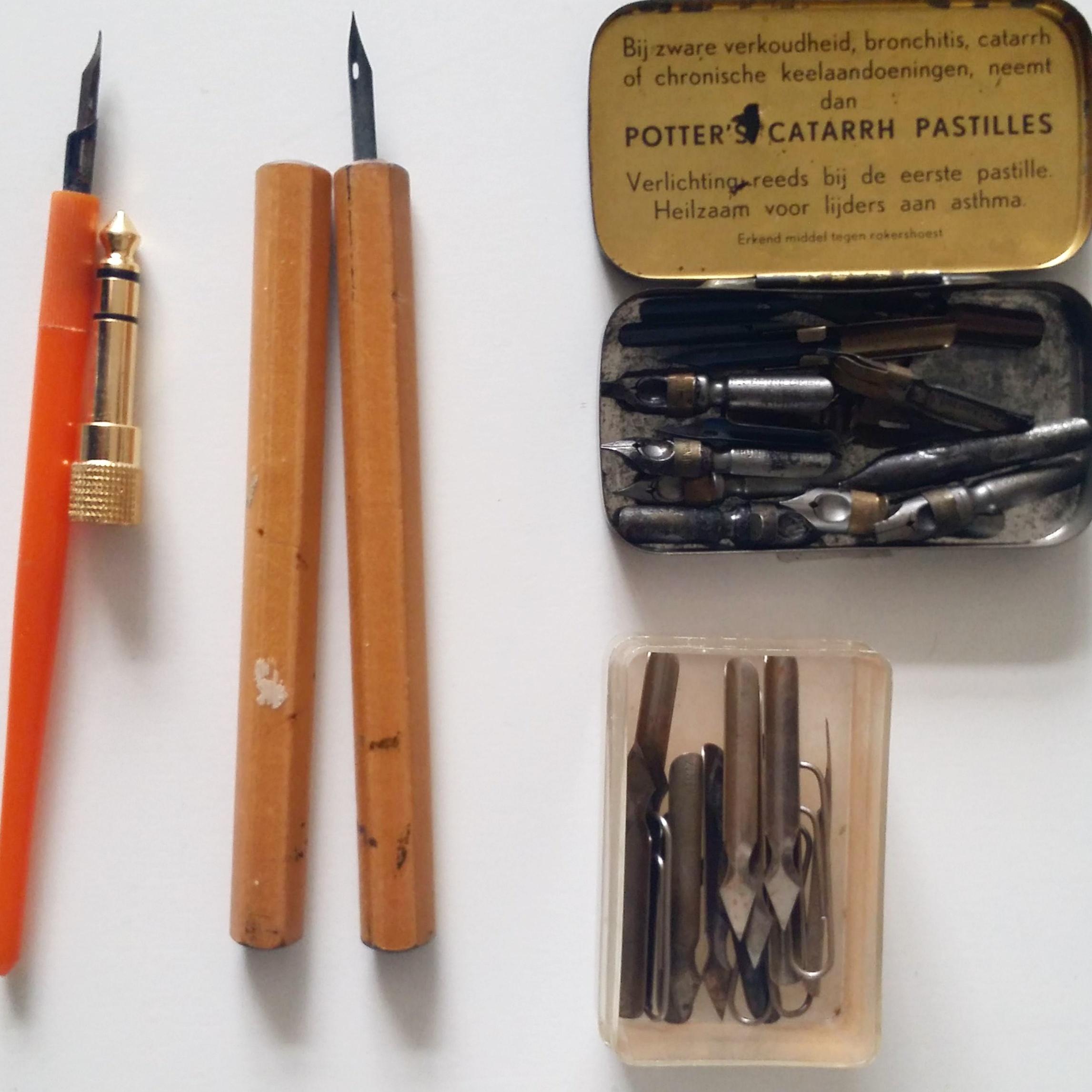 Dip pen- IN LINDA RUSCONI'S STUDIO- An artist interview via Opinion9.com