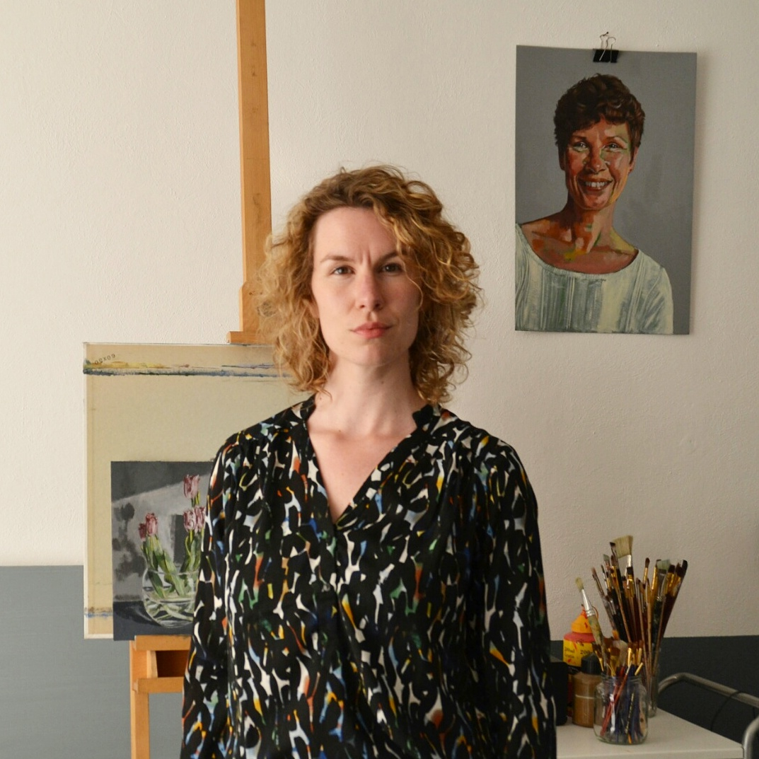 IN LINDA RUSCONI'S STUDIO- An artist interview via Opinion9.com