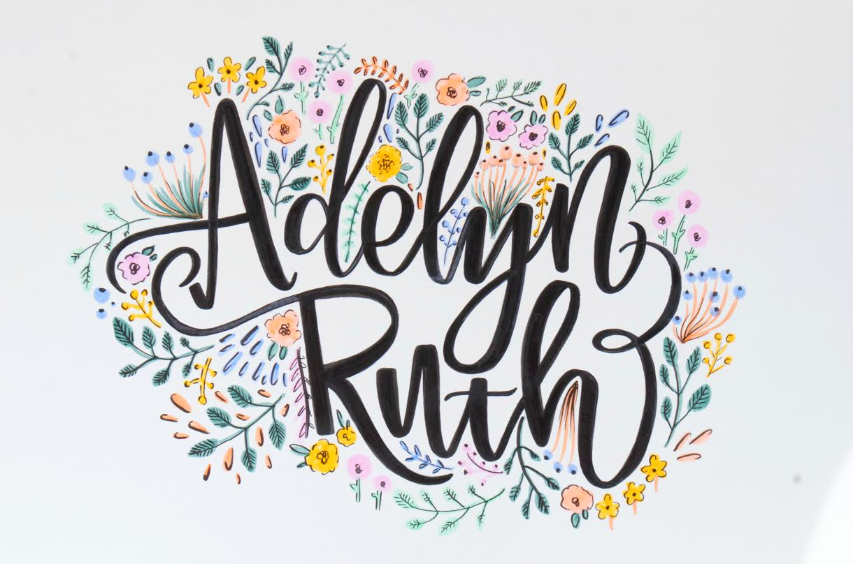 Creative Lettering (And Conversation) with Kiley In Kentucky via Opinion9