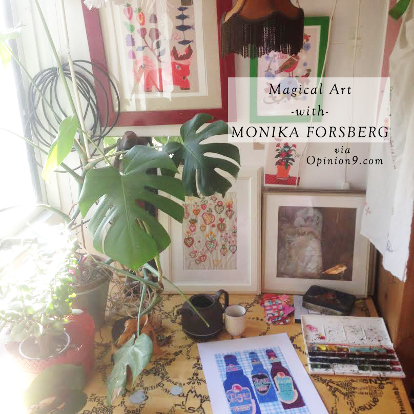 magical art with monika forsberg