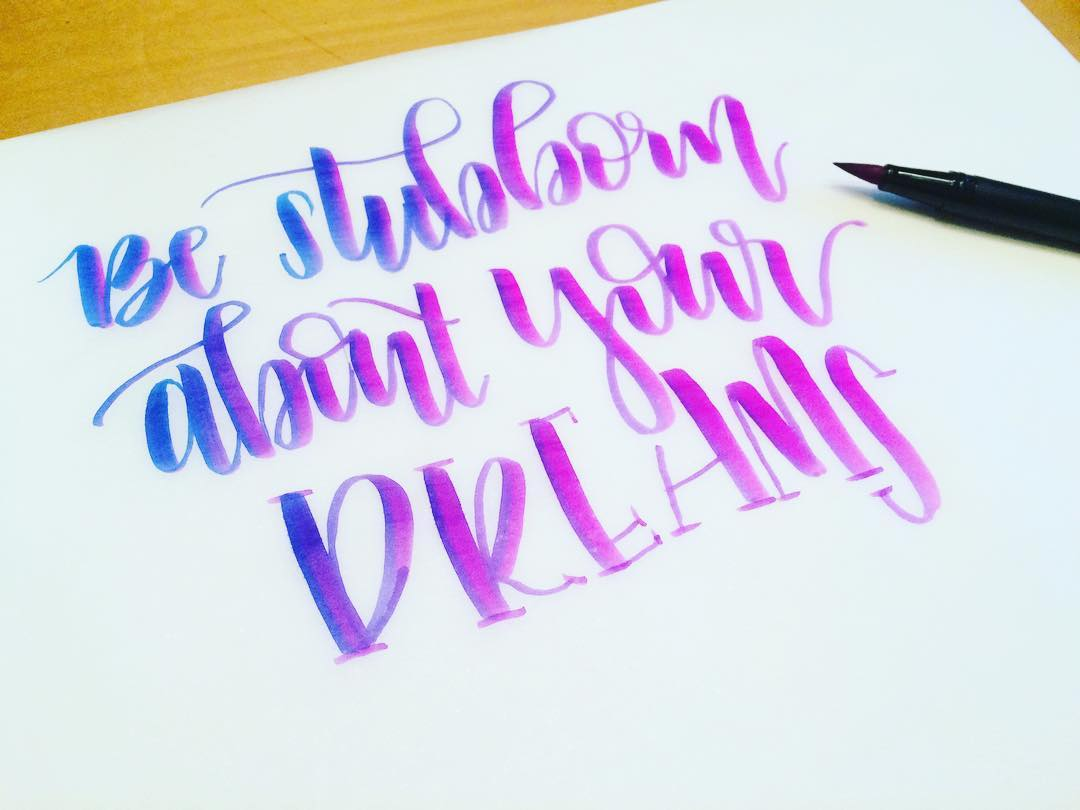 #SimpleAlphabets Lettering Inspiration: Brittany Luiz