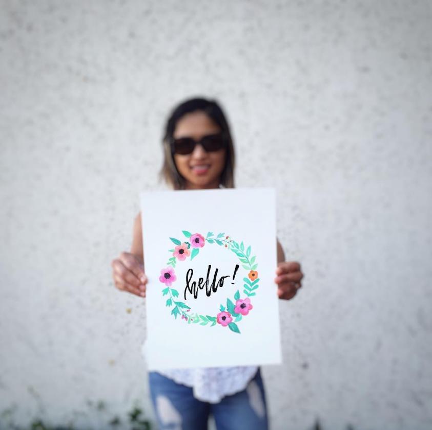 #SimpleAlphabets Inspiration: Hazel's Lettering