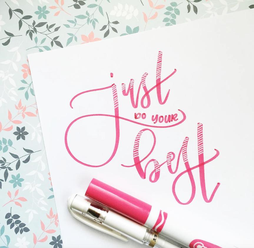 #SimpleAlphabets Inspiration: Hazel's Lettering// Opinion9.com creative interviews