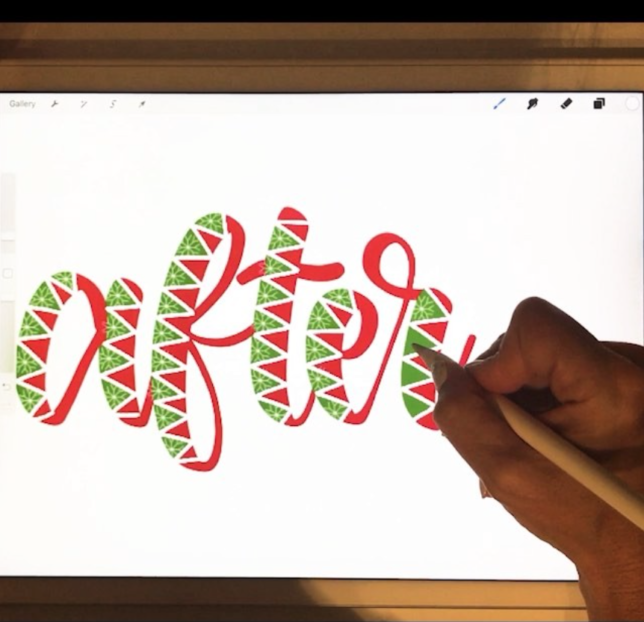 #SurelySimple Inspiration: Karin of iPadLettering via opinion9.com